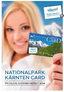 Nationalpark Kärnten Card 2014(© )