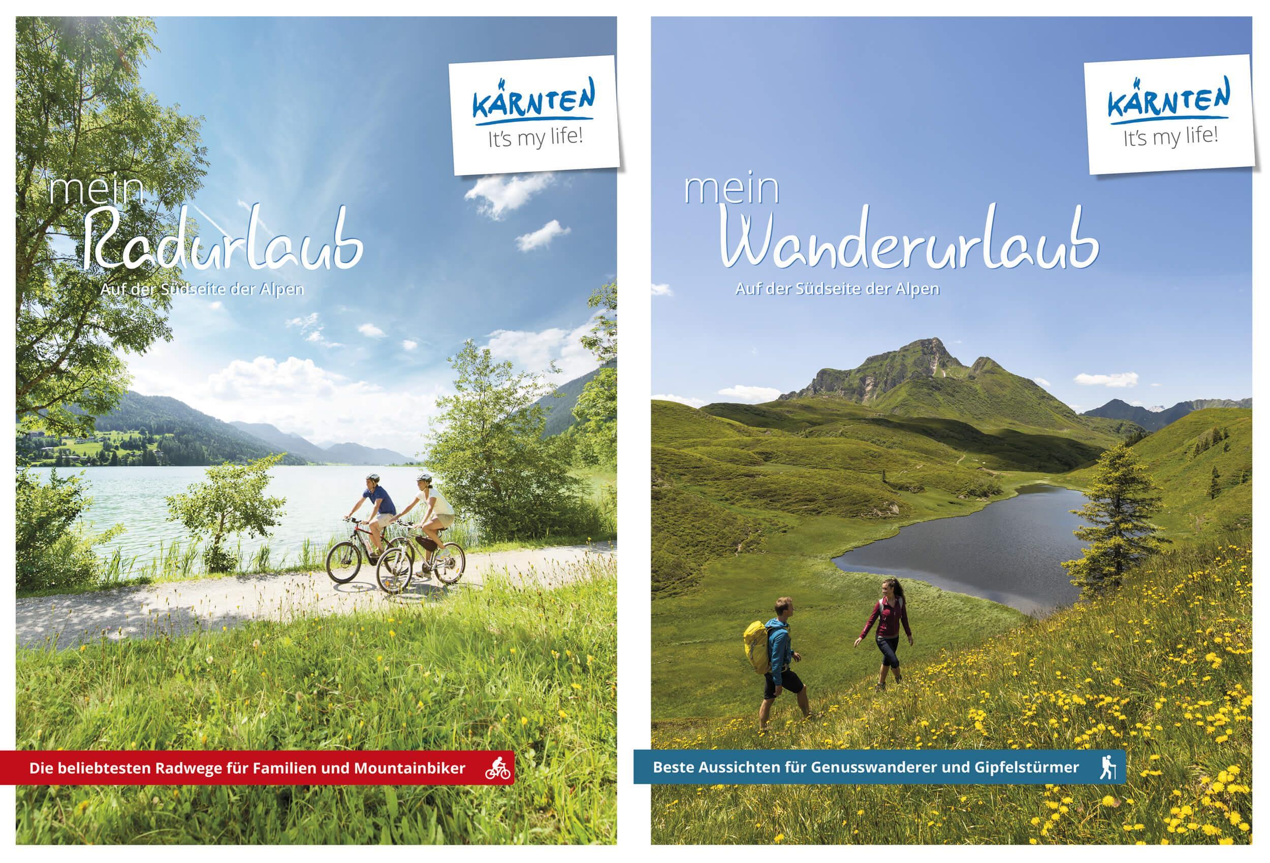 Rad-Wanderkarte(© Kärnten Werbung)