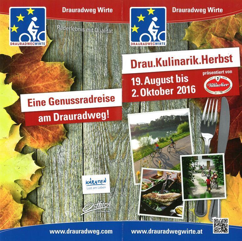 Drau.Kulinarik.Herbst(© Verein Drauradweg Wirte)