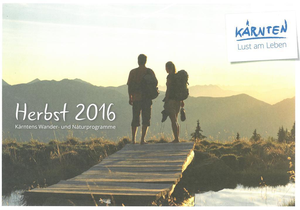 Natur Aktiv Herbst 2016 Wander- & Naturprogramme(© )