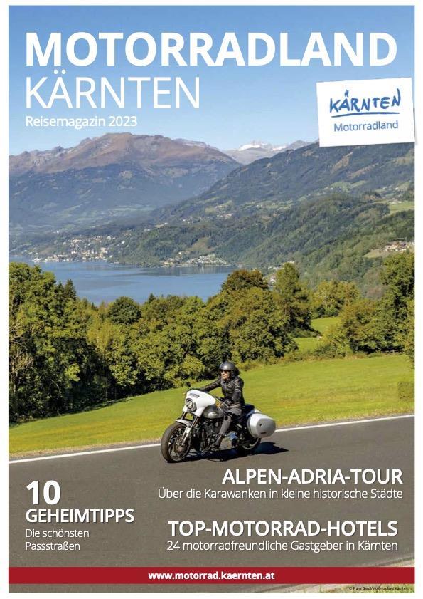 Motorradland Kärnten Reisemagazin(© Motorradland Kärnten)