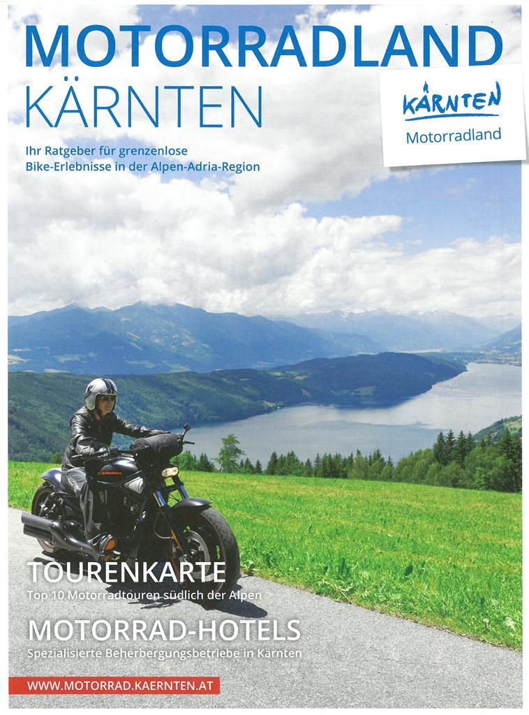 Motorradland Kärnten Tourenkarte(© )