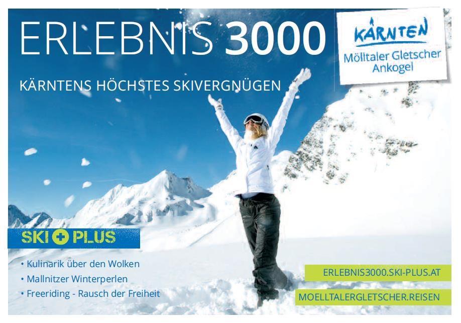 Erlebnis 3000: Kärntens höchstes Skivergnügen(© )