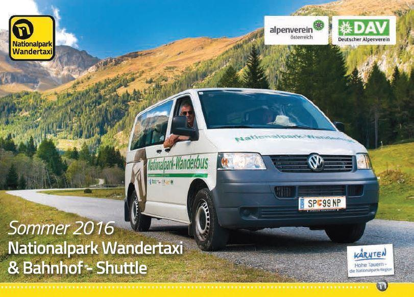 Flyer Nationalpark Wandertaxi(© )