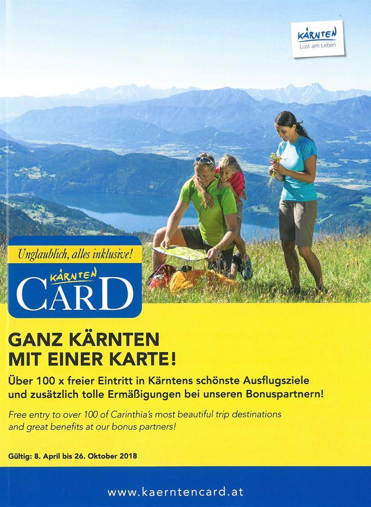 Kärnten Card Boschüre(© Kärnten Card)