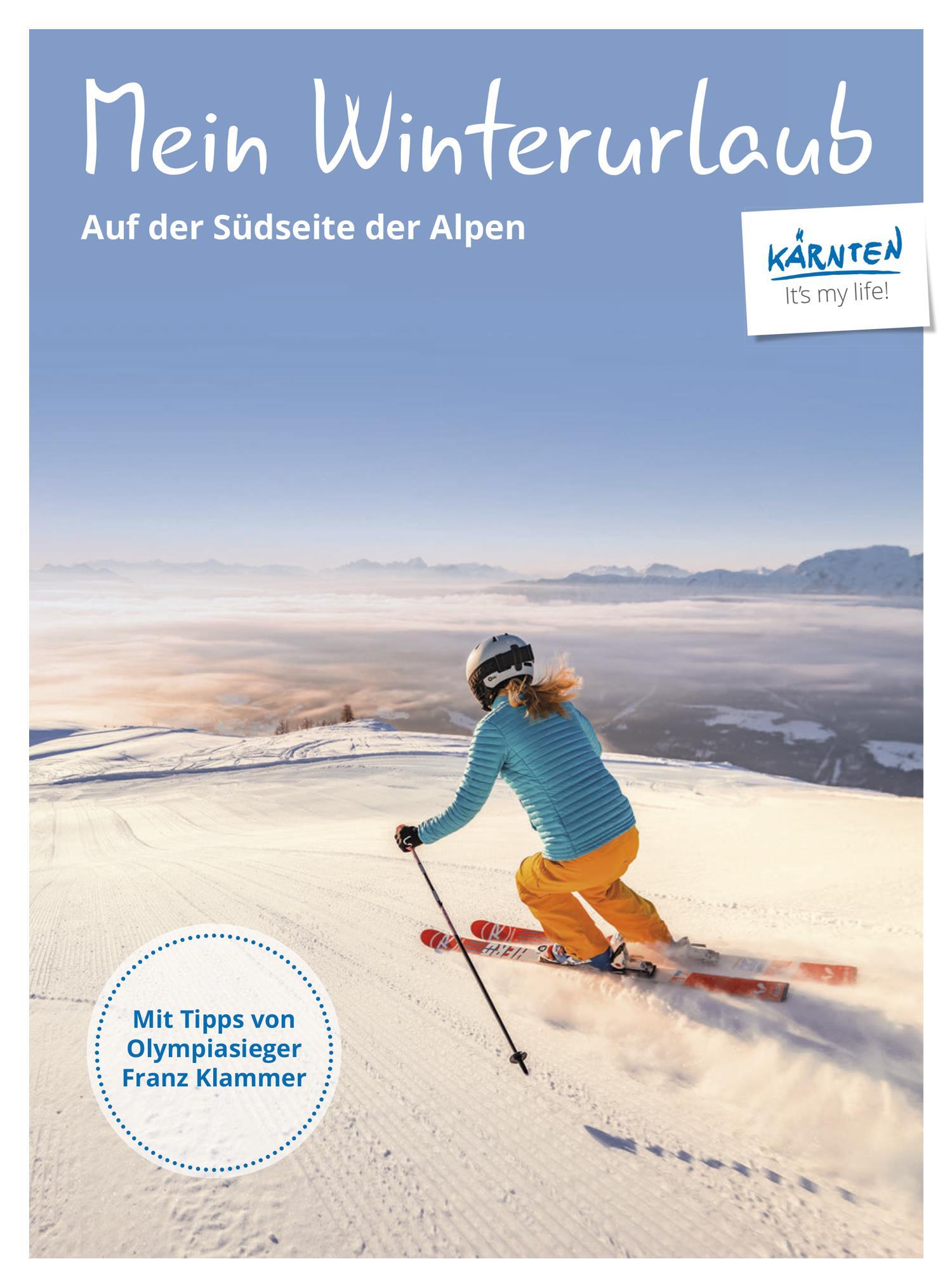 Skikarte(© Kärnten Werbung)