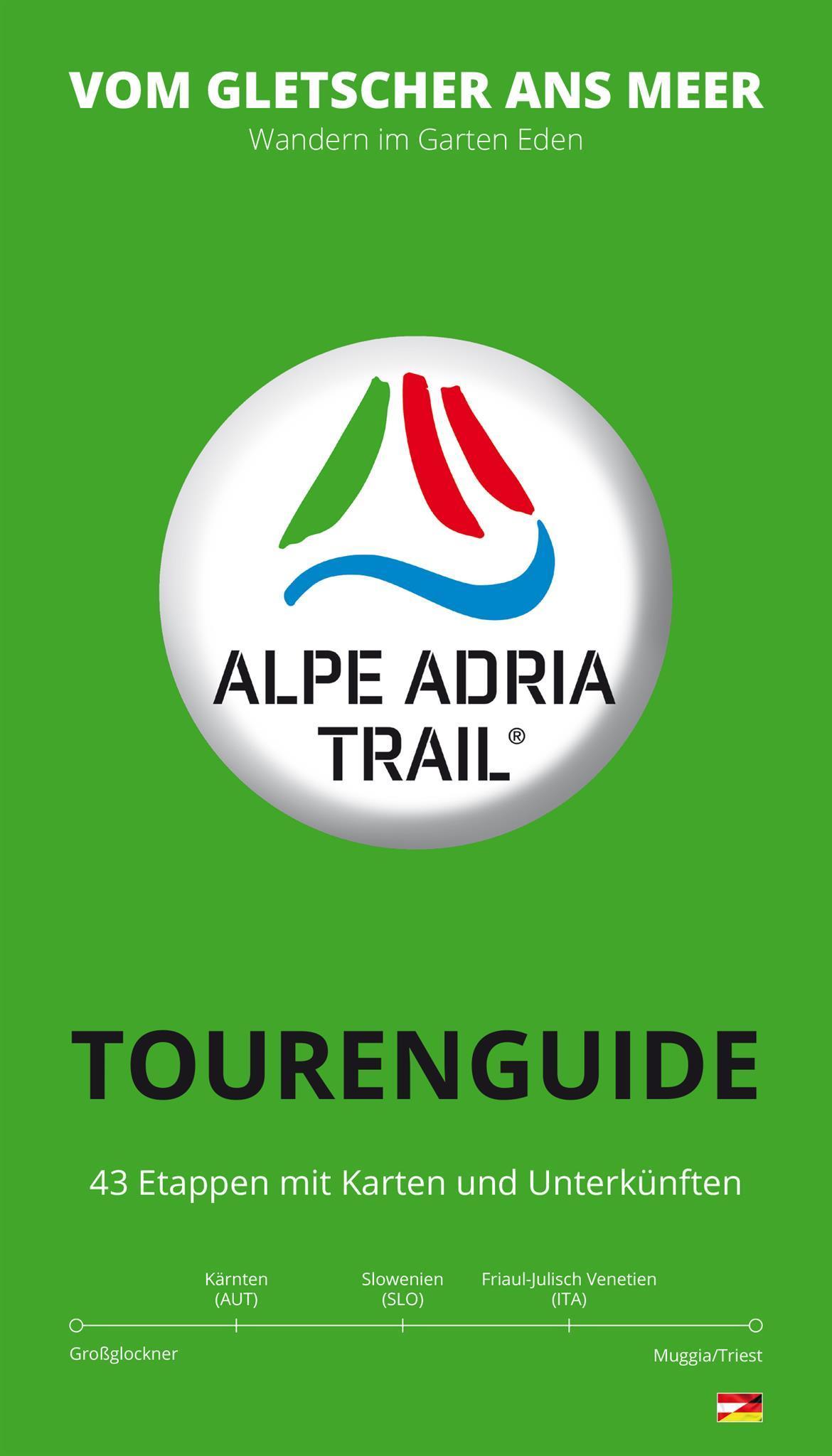 Alpe-Adria-Trail Tourenbuch(© Alpe Adria Trail)