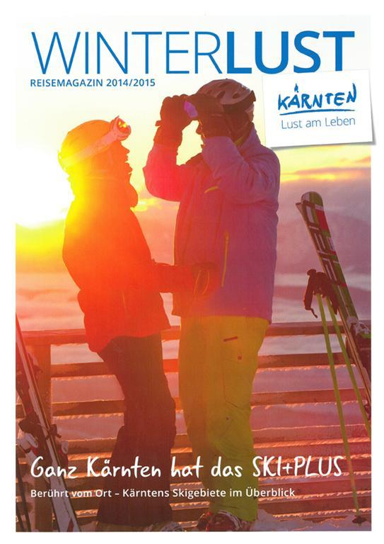 Reisemagazin Kärnten Winter(© Kärnten Werbung)
