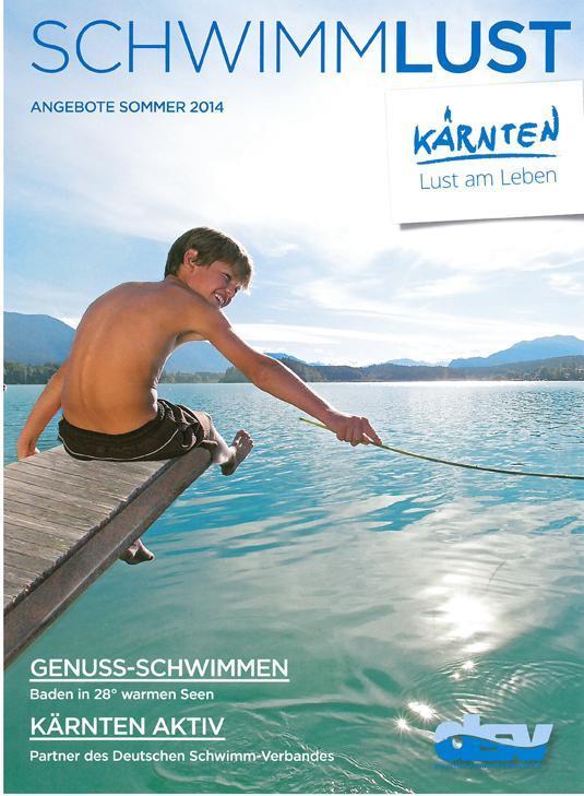 Schwimmlust(© Kärnten Werbung)