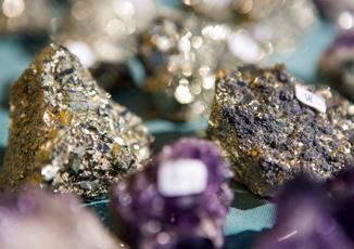 Mineralienschau