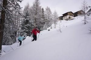 Schneeschuhwanderung mit unserem Guide