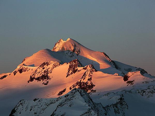 Wildspitze 3774 m - the peak of Tirol