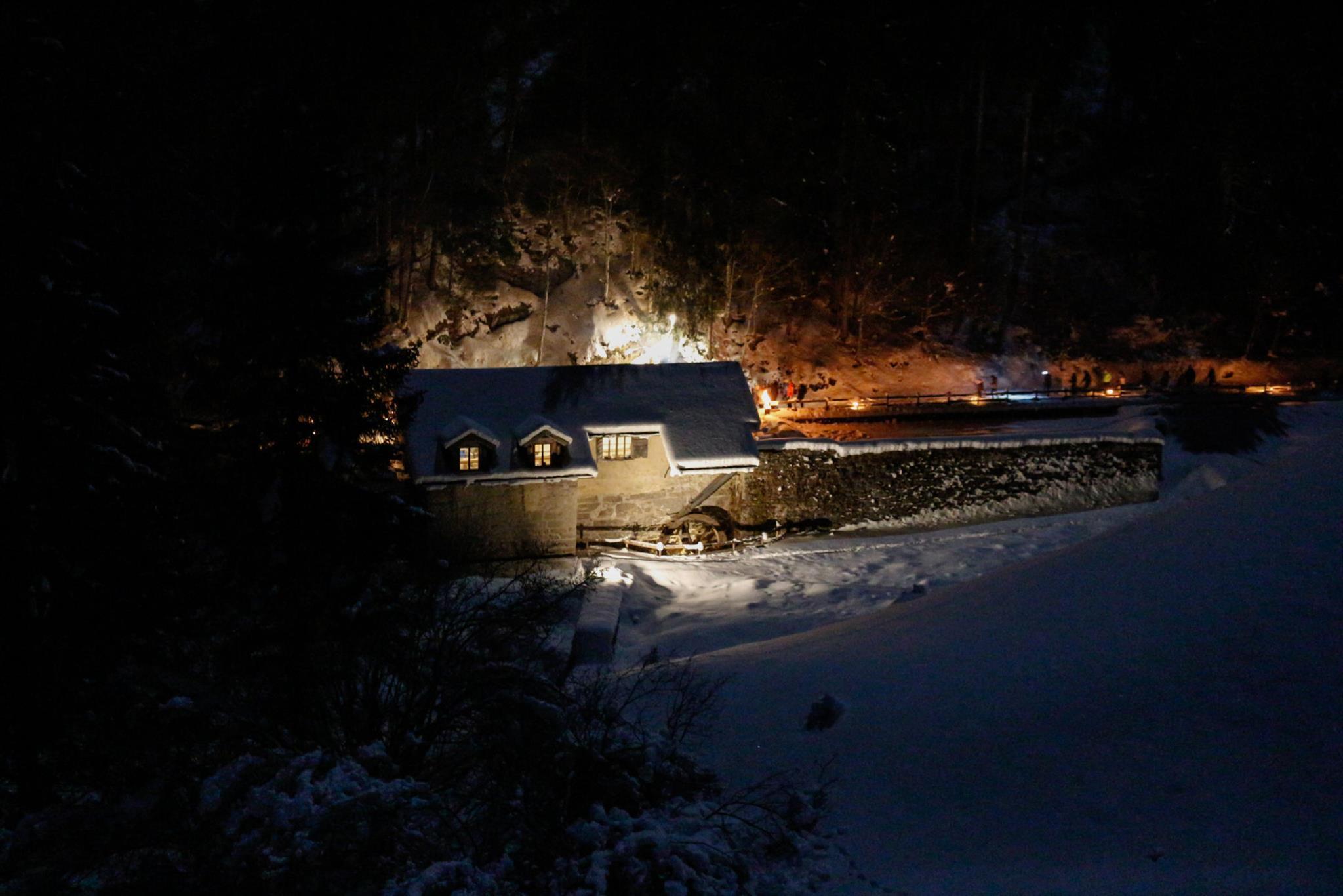 "Night Walk in the Sawmill ""Segheria dei Mein"""