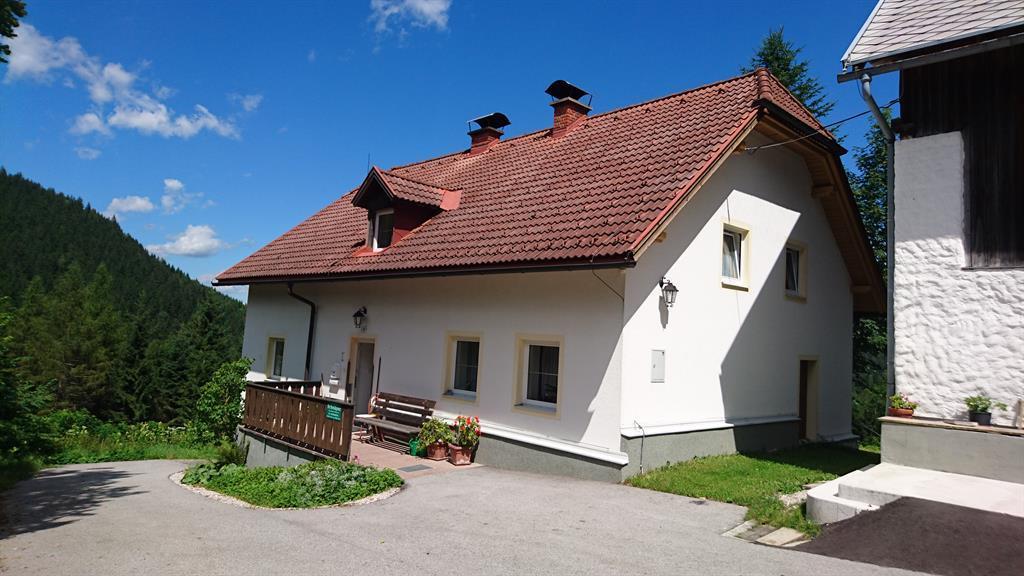 Trattenbach Alm Ferienhaus, Bad/Dusche/WC, 4 Schlafräume