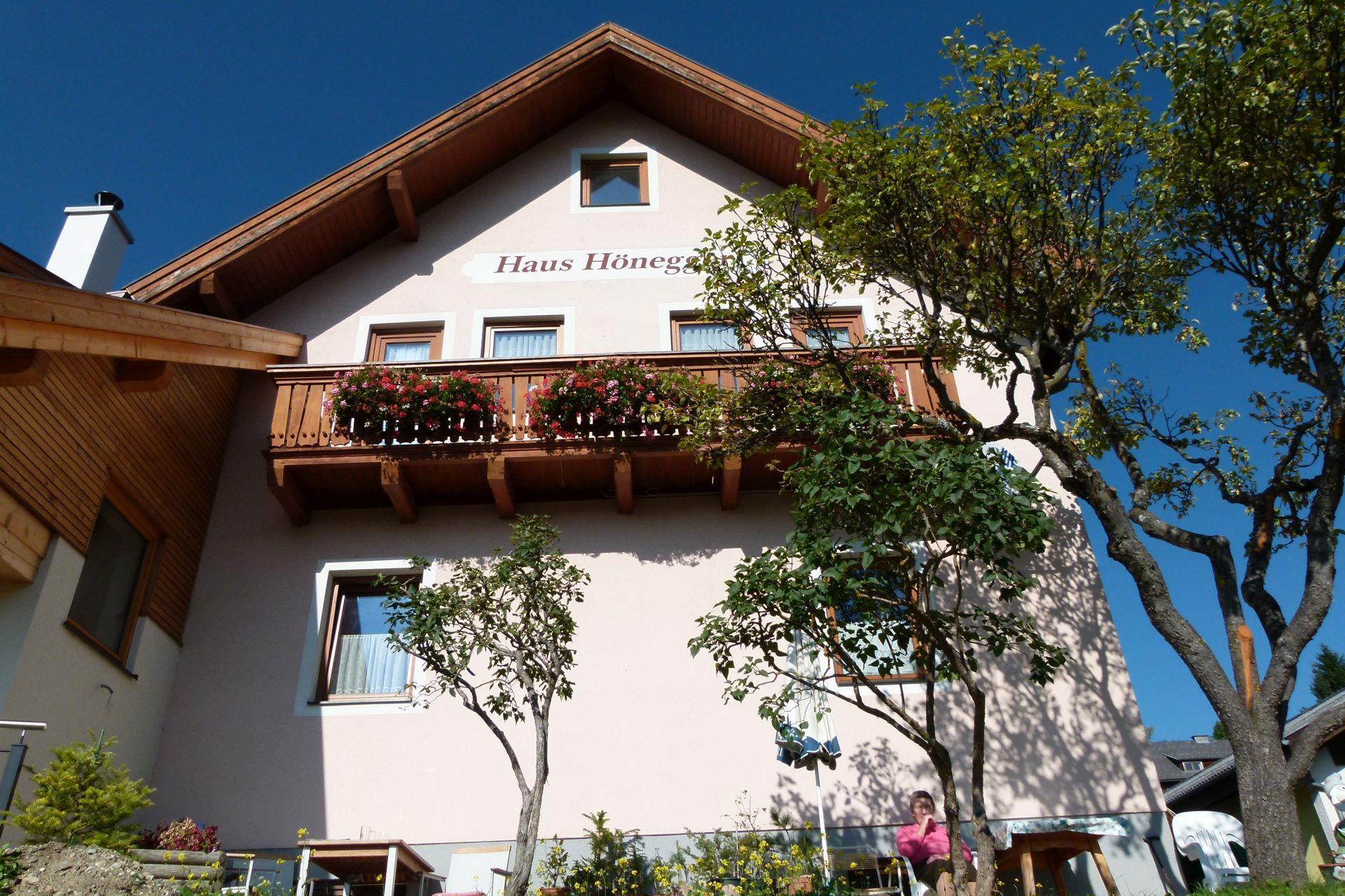Hönegger, Haus Apartment/2 Schlafräume/Dusche, WC