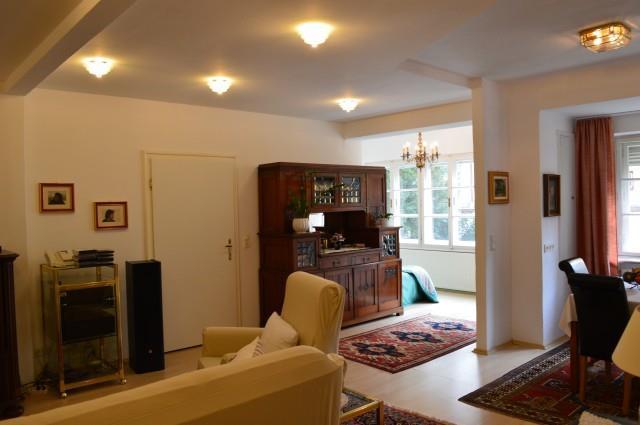 Wohnen in der Stadtvilla Appartement mit Bad & WC, 2 Schlafräume